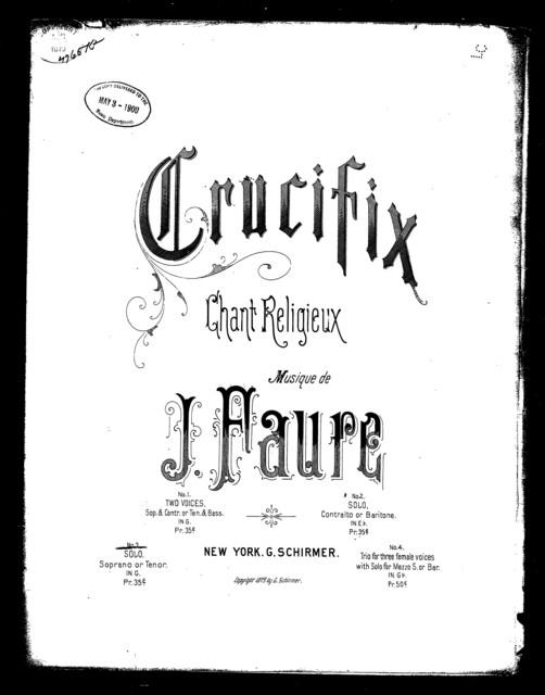 Crucifix! [soprano]