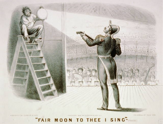 """""""Fair moon to thee I sing""""-(Pinafore)"""