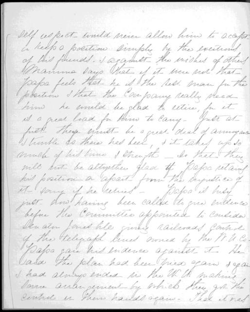 Journal by Mabel Hubbard Bell, from January 6, 1879 to February 23, 1879