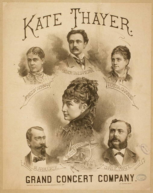 Kate Thayer Grand Concert Company