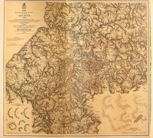 Military maps.
