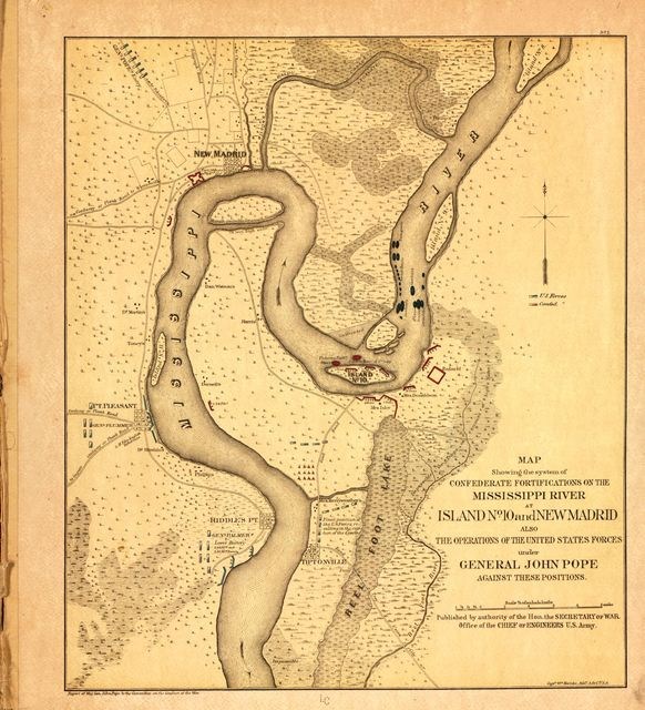 Military maps of the war of the Rebellion-miscellaneous, [1865-1879].