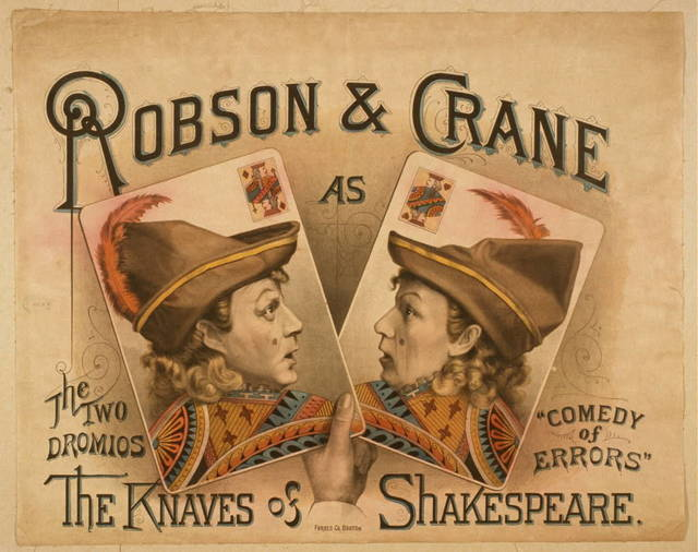 Robson & Crane as the knaves of Shakespeare