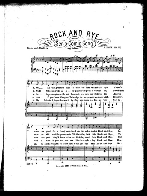 Rock and rye