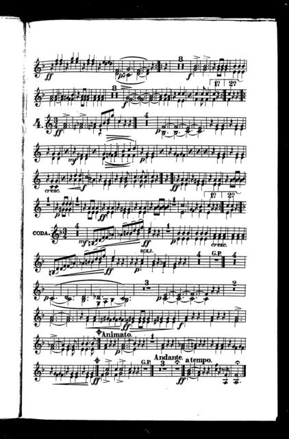 Strauss' autograph waltz