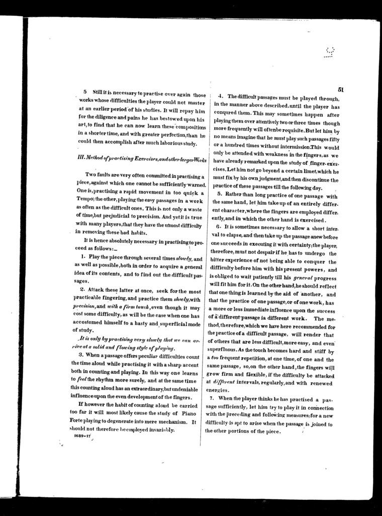 Studies for the pianoforte, Plaidy's technical studies, book 4