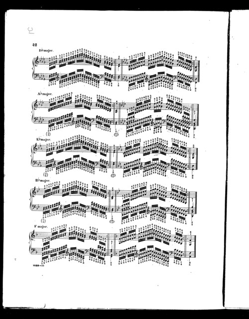 Studies for the pianoforte, Plaidy's technical studies, book 4