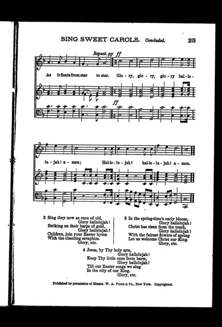 Sunday-school harmonies, number 1