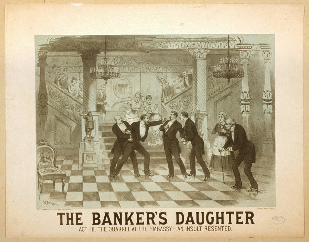 The banker's daughter
