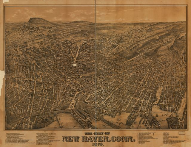 The city of New Haven, Conn. 1879.
