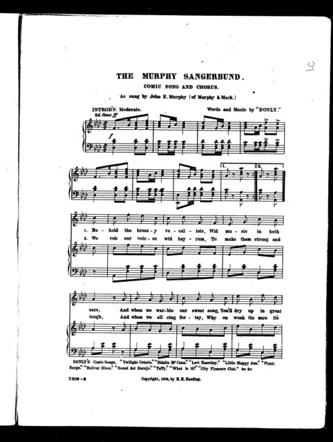 The  Murphy sangerbund