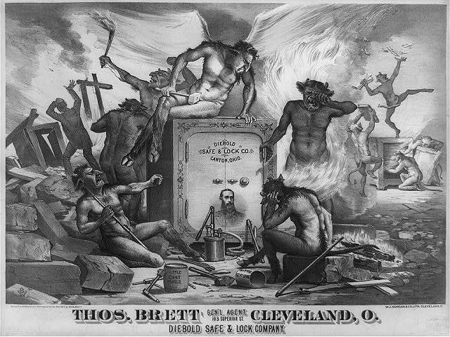 Thos. Brett Cleveland, O. Diebold Safe & Lock Company