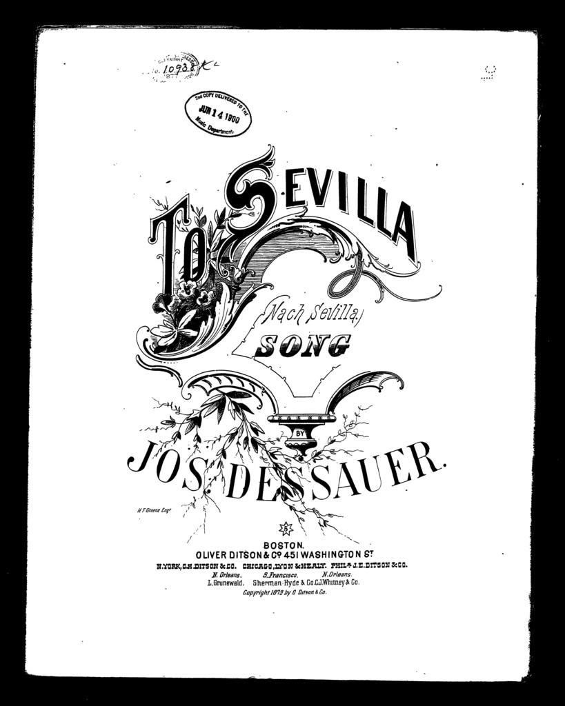 To Sevilla - Nach Sevilla