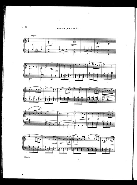 Voluntaries for the cabinet organ, book 1