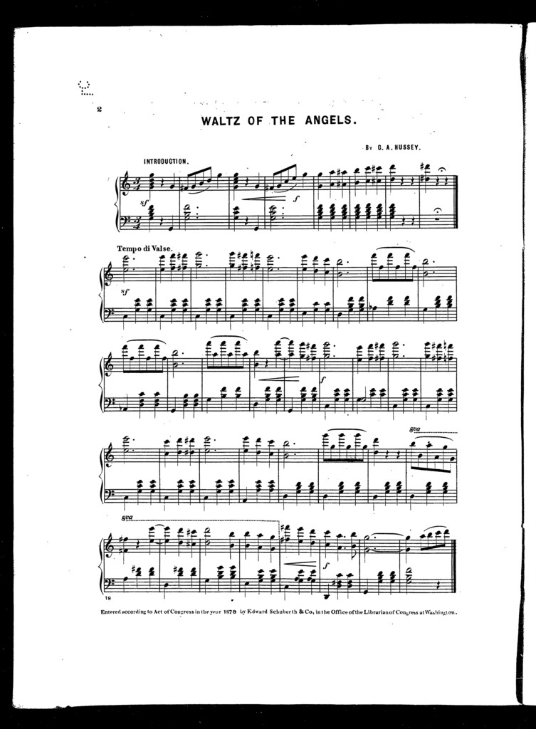 Waltz of the angels
