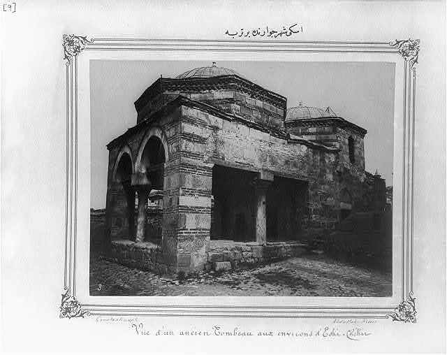 [A mausoleum in the vicinity of Eskişehir] / Constantinople, Abdullah Frères.