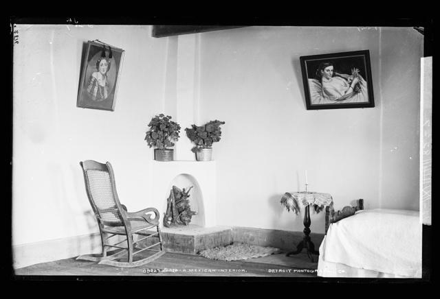 A Mexican interior