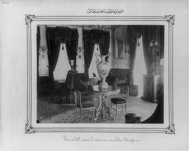 [A room within the Imperial Ceremonial Palace (Yıldız)]