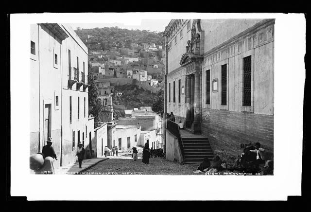 A street in Guanajuato