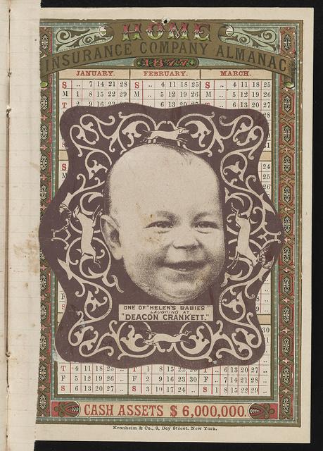 "[Advertising card for play ""Deacon Crankett""]"