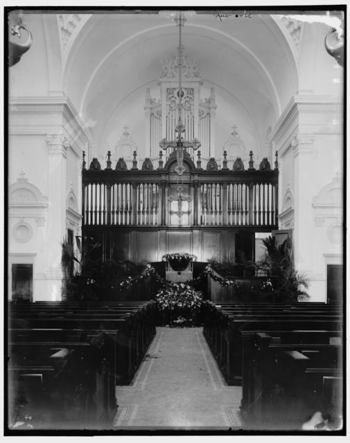 [Altar, Flagler Memorial Presbyterian Church, St. Augustine]