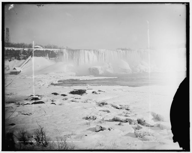 American Falls from Canadian shore, Niagara