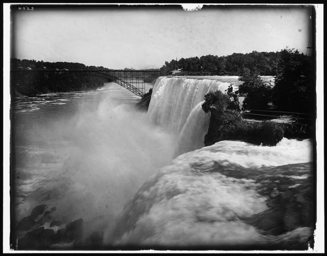 American Falls from Goat Island