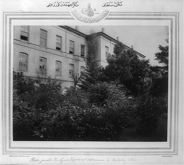 [Another view of the Mekteb-i Sultani] / Abdullah Frères, Phot., Constantinople.