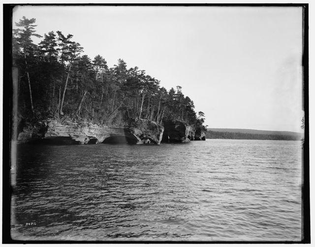 [Apostle Islands, Squaw Bay, Washington Arches]