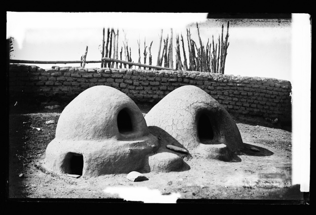 Bake ovens [common?] among the Pueblo Indians at Taos, New Mex.