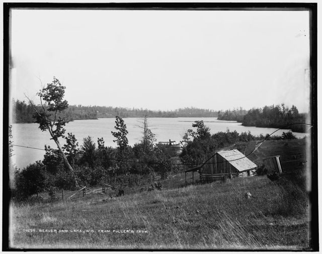 Beaver Dam Lake, Wis. from Fuller's Farm