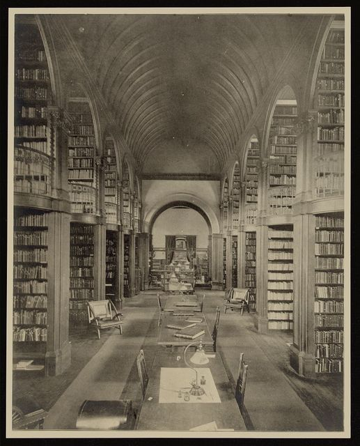 [Book room, Woburn Public Library, Woburn, Mass.]