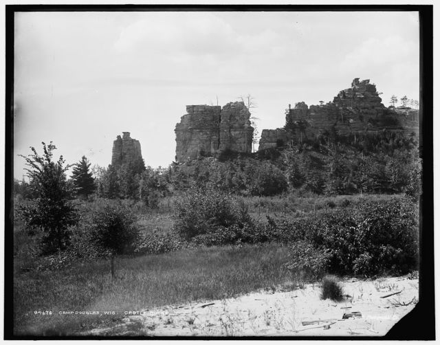 Camp Douglas, Wis., Castle Rocks