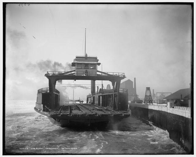 Car ferry, Transport, Detroit River