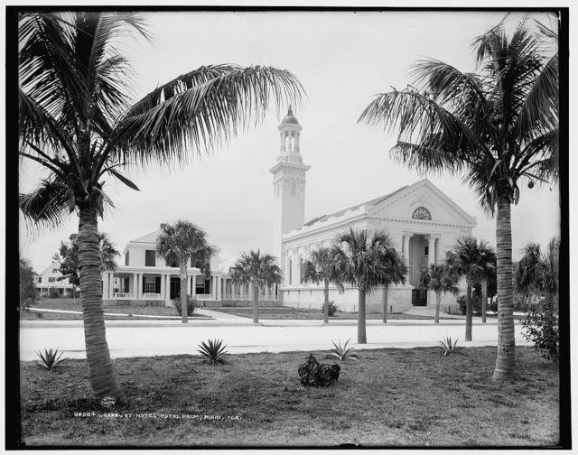 Chapel at Hotel Royal Palm [i.e. Royal Palm Hotel], Miami, Fla.