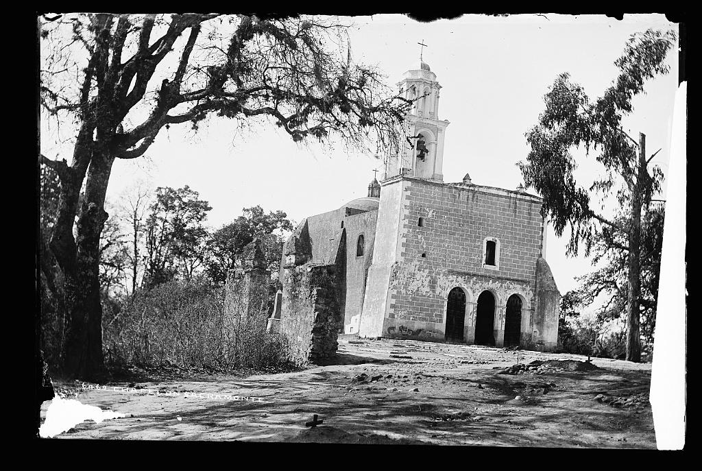 Chapel on Sacramonte [i.e. Sacro Monte, near Amecameca]
