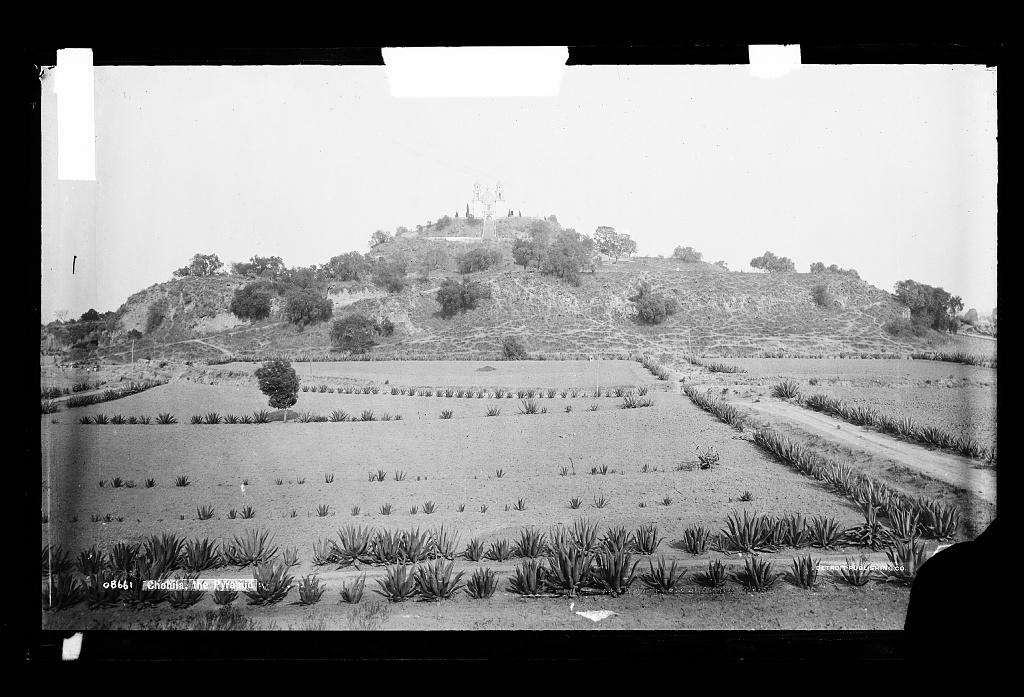 Cholula, the Pyramid [Gran Piramide]