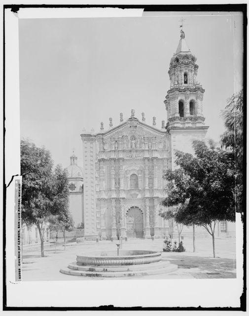 Church of Carmen, San Luis Potosi, Mexico