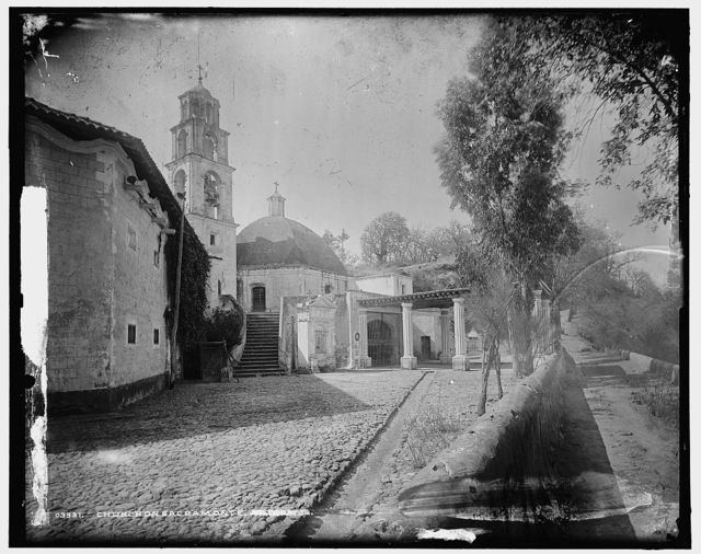 Church on Sacramonte [i.e. Sacro Monte, near Amecameca]