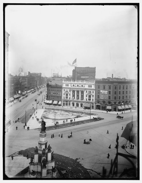 [City Hall and Campus Martius, Detroit, Mich.]