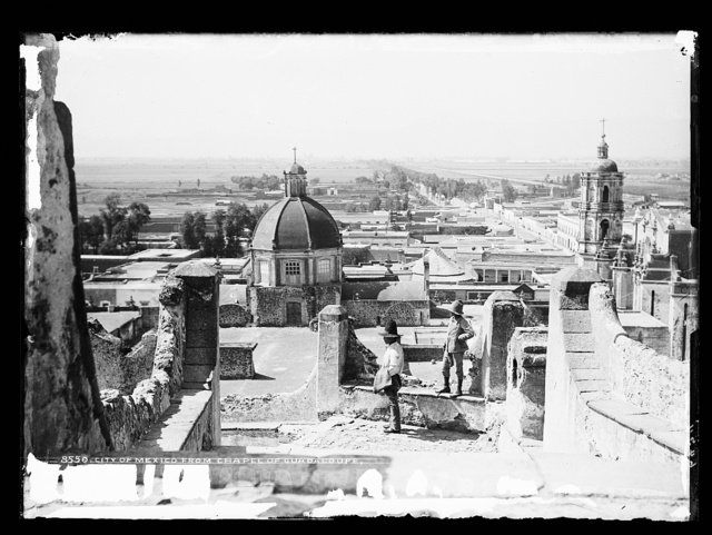 City of Mexico from chapel of Guadaloupe [i.e. Guadalupe, in Gustavo A. Madero]
