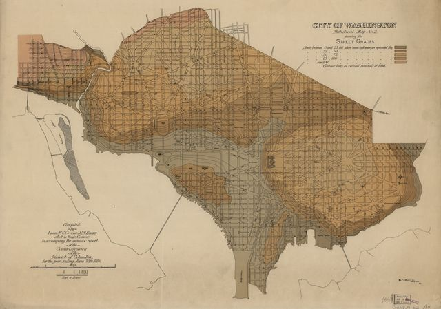 City of Washington, statistical maps /