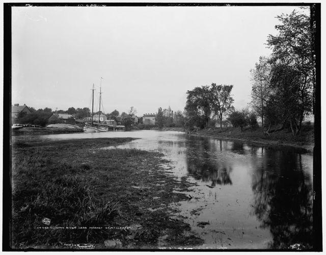 Clinton River near Market St., Mt. Clemens