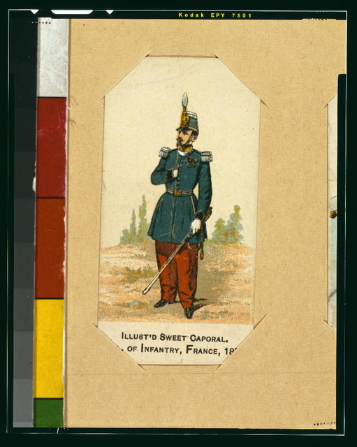 Col. of infantry, France, 1853
