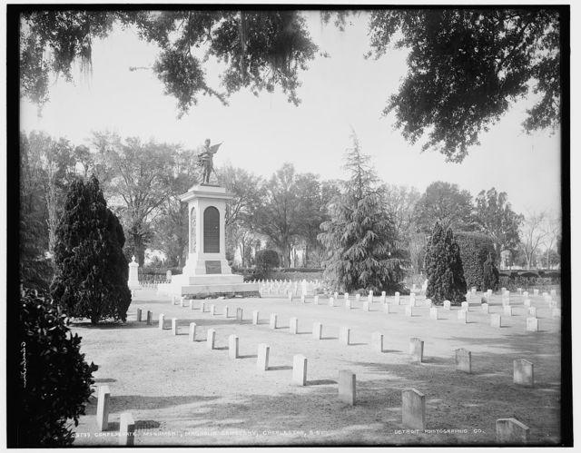Confederate Monument, Magnolia Cemetery, Charleston, S.C.