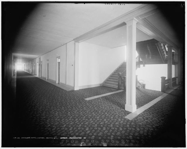 Corridors, Hotel Victory, Put-in-Bay