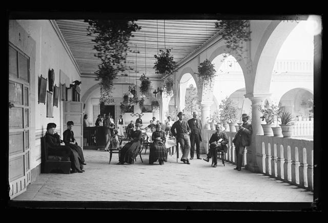 [Corridors of the Hotel Diligencias, Puebla, Mexico]