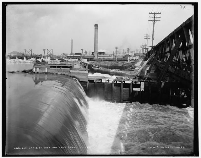 Dam of the Chicago Drainage Canal, Joliet