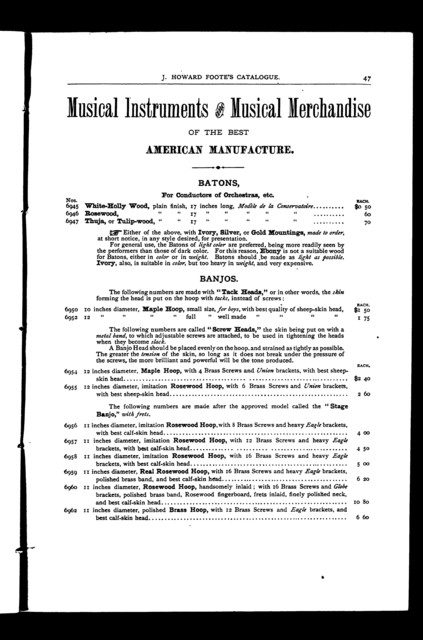 Descriptive catalogue of musical instruments, strings, etc