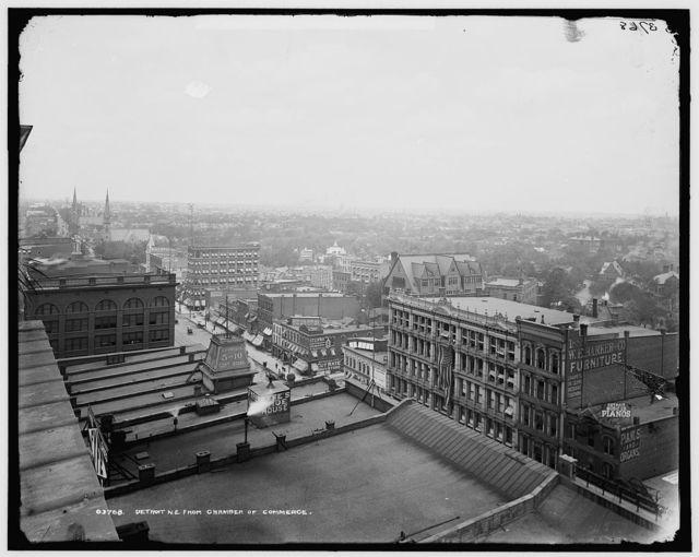 Detroit n.e. from Chamber of Commerce